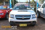 2010  Holden Colorado LX RC Cab Chassis