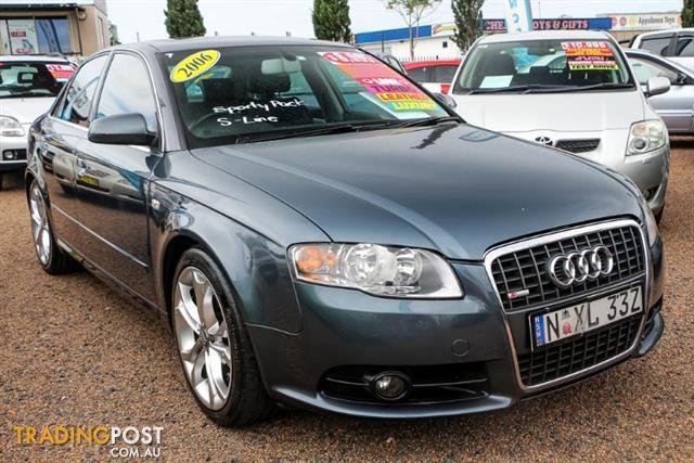 2006 Audi A4 B7 S Line Sedan 4dr Man 6sp Quattro 2 0t Sedan