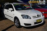 2006  Toyota Corolla Ascent ZZE122R 5Y Hatchback