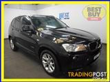 2011 BMW X3 xDRIVE 20d F25 4D WAGON