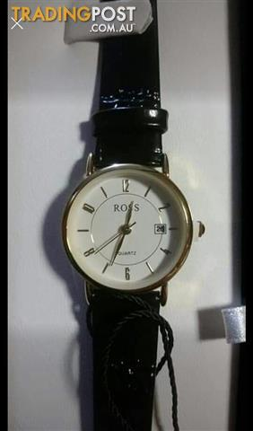 Ross leather watch