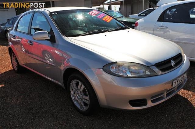 2005 Holden Viva Jf Mp Finj 18l 4cyl 5dr Hatchback For Sale In