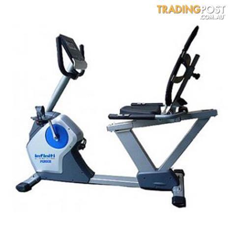 infiniti pg800 recumbent exercise bike