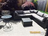 Stunning Outdoor Corner Suit and coffee table