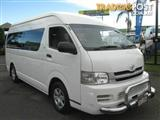 2008  TOYOTA HIACE COMMUTER HIGH ROOF S KDH223R MY08 BUS