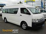2007  TOYOTA HIACE COMMUTER HIGH ROOF S TRH223R BUS