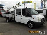 2008  FORD TRANSIT  VM CAB CHASSIS