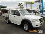 2008  FORD RANGER XL CREW CAB PJ CAB CHASSIS