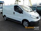 2012  RENAULT TRAFIC LOW ROOF X83 PHASE 3 VAN