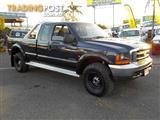 2002  FORD F250 XLT SUPER CAB  UTILITY