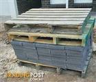 11.45m2 charcoal concrete pavers 300x300x40