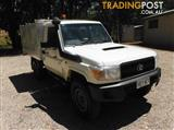 2008 TOYOTA LANDCRUISER WORKMATE VDJ79R CAB CHASSIS