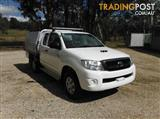 2011 TOYOTA HILUX SR KUN26R CAB CHASSIS