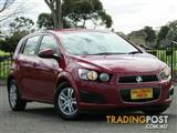 2014 Holden Barina CD TM MY14 Hatchback