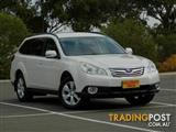 2010 Subaru Outback 2.5i Lineartronic AWD B5A MY10 Wagon