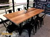 Rustic Timber Cafe Tables