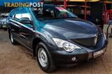 2010  SSANGYONG ACTYON SPORTS Q100 DUAL CAB