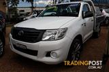 2011  TOYOTA HILUX WORKMATE  CAB/CHASS