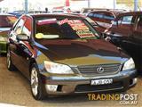 2000  Lexus IS200 Sports GXE10R Sedan