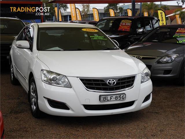 2009 Toyota Aurion Atx Gsv40r Sedan For Sale In Minchinbury Nsw