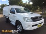 2011 Toyota Hilux SR (4x4) KUN26R MY11 Upgrade Cab Chassis