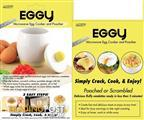 Eggy : Ceramic Microwave Egg Cooker and poacher