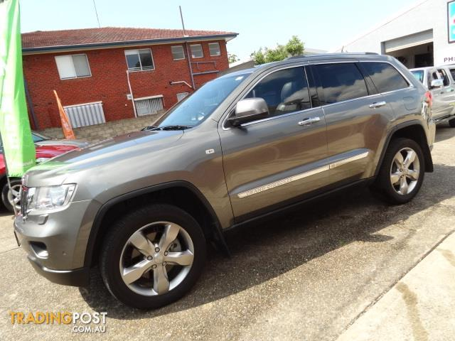 2012 jeep grand cherokee overland 4x4 wk my12 4d wagon for sale in sylvania nsw 2012 jeep. Black Bedroom Furniture Sets. Home Design Ideas