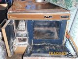 Wood Stove (Franco Belge with oven)