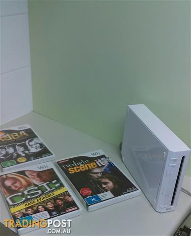 Wiii console white no remote