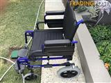 WHEELCHAIR INVACARE INT - HARDLY USED EX SYDNEY IN PERTH WA