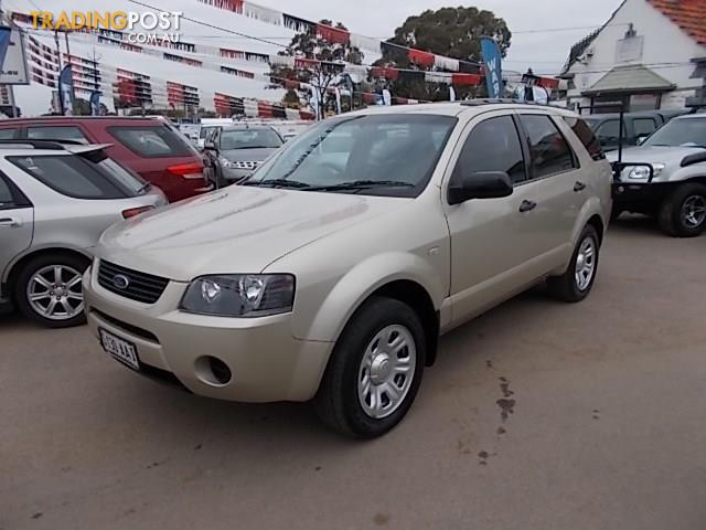 2008 FORD TERRITORY TX (RWD) SY MY07 UPGRADE 4D WAGON