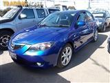 2006 MAZDA MAZDA3 SP23 BK MY06 UPGRADE 4D SEDAN
