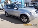 2007 SSANGYONG REXTON RX270 LIMITED Y200 MY07 UPGRADE 4D WAGON