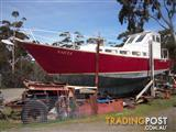 38ft Yacht steel Roberts