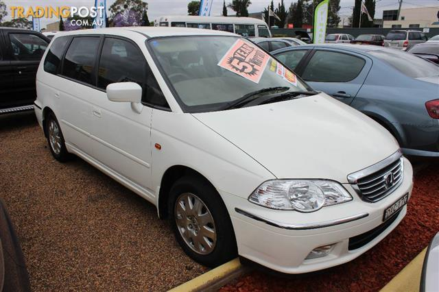 2003 honda odyssey v6l 6 seat 4d wagon for sale in minchinbury nsw 2003 honda odyssey v6l 6. Black Bedroom Furniture Sets. Home Design Ideas