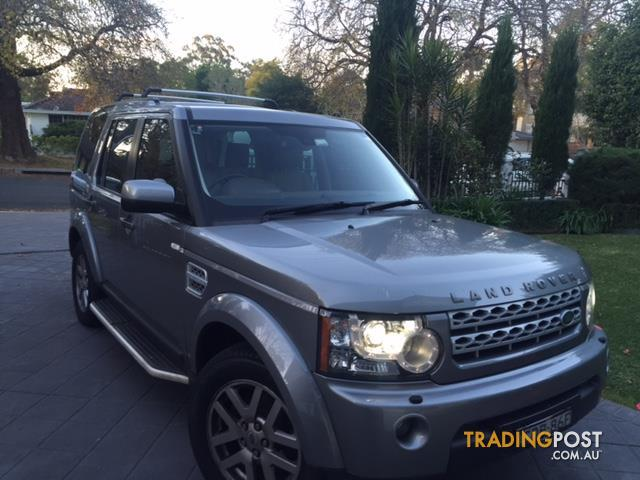 2011 LAND ROVER DISCOVERY 4 2.7 TDV6 MY11 4D WAGON