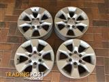 Toyota Landcruiser Prado GX 150 series wheels