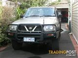 1999 NISSAN PATROL ST (4x4) GU 4D WAGON
