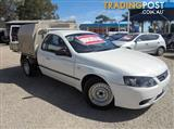 2008 FORD FALCON UTE XL BF Mk II CAB CHASSIS