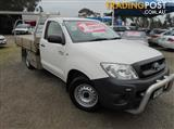 2011 TOYOTA HILUX WORKMATE TGN16R CAB CHASSIS