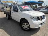 2010 NISSAN NAVARA RX D40 CAB CHASSIS