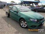 2012 FORD FALCON UTE XR6 EcoLPi FG MkII CAB CHASSIS