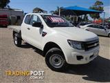 2013 FORD RANGER XL HI-RIDER PX CAB CHASSIS