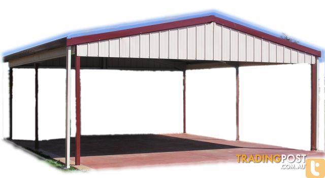 Shed city factory manufactured wider gable carport outdoor for Gable carport prices