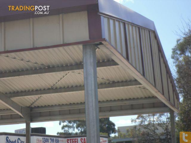 Shed city factory manufactured gable roof carport for sale for Gable roof carport price