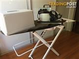 Fashion stylists this is for you! Heavy duty steam iron and ironing board