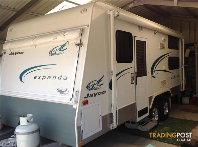 Jayco Expanda Bunk Option 18.57 -6 Outback with Annex.
