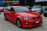 2009 HOLDEN COMMODORE SV6 VE MY09.5 4D SPORTWAGON