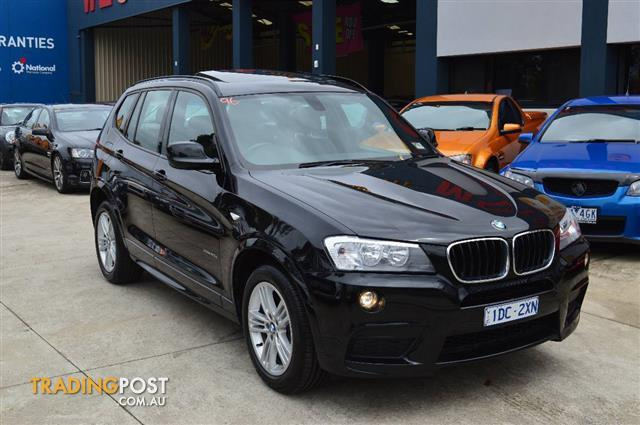 2013 bmw x3 xdrive 20d f25 my13 4d wagon for sale in. Black Bedroom Furniture Sets. Home Design Ideas