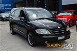 2005 SSANGYONG STAVIC SV270 LIMITED A100 4D WAGON
